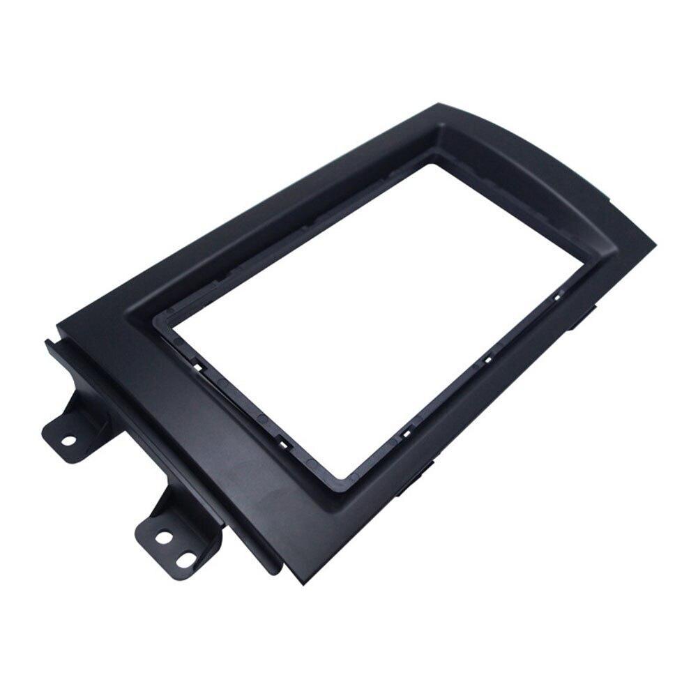 Автомобильный аудио установка рамка DVD панель приборная панель комплект навигации РЕМОНТ панель кронштейн Радио Рамка 2 DIN для Suzuki SX4