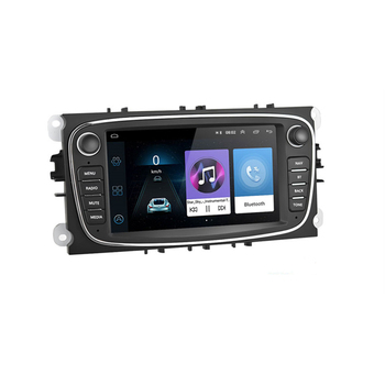 Eastereggs Android GPS Car Radio 2 Din Car Multimedia player 7 inch autoradio Player For Ford/Focus/S-Max/Mondeo 9/GalaxyC-Max image