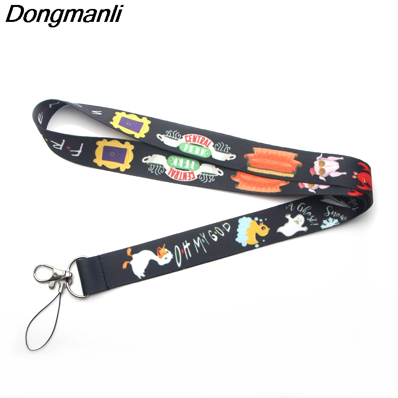 Image 5 - PC150 Wholesale 20pcs/ Lot Good Friend TV Show Lanyard Badge ID 