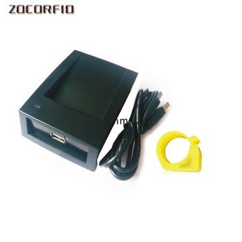 Super function Microchip Hitag S256 FDX-B writer 125-134.2KHZ ISO 11784/85 card writer-reader, animal chip writer
