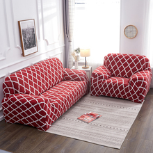 1/2/3/4 Seater Stretch Sofa Covers Furniture Protector Polyester Loveseat Couch Cover Arm Chair Cover For Living Room Decor luxury furniture set genuine leather sofas for living room modern sofa loveseat chair chesterfield