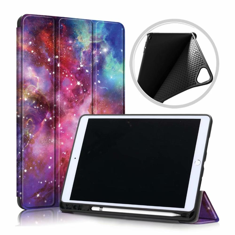 Purple Night Purple Ultra Slim Coque For iPad 10 2 2019 Case A2200 A2198 A2232 Smart Magnetic Folding Stand