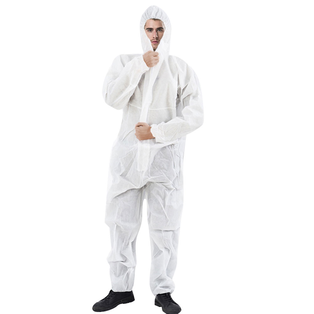 Reusable and Full Body Coverall Medical Protective Clothing for Protection from Viruses and Bacteria 7