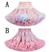 Детская Нижняя юбка свадебная для маленьких девочек балетная
