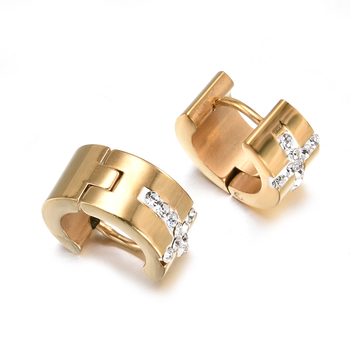 1 Pair High Quality Women Men Stainless Steel Crystal Rhinestone Stud Earrings Lover Party Gold Earring.jpg 350x350 - 1 Pair High Quality Women Men Stainless Steel Crystal Rhinestone Stud Earrings Lover Party Gold Earring Jewelry