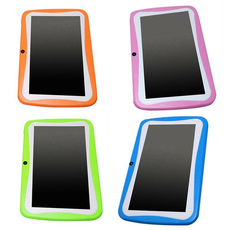 Купить с кэшбэком 7 Inch Kids Tablet Android Dual Camera Wifi Education Game Gift for Boys Girls,Eu Plug