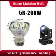 משלוח חינם שלב אור 200W 5R / 7R 230W מתכת הליד מנורת נע קרן מנורת 230 קרן פלטינה מתכת הלוגן מנורות זרקור