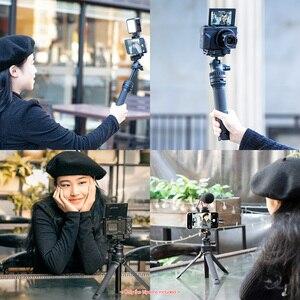 Image 5 - Ulanzi MT 34 extensível selfie vara tripé handheld fotografia suporte tripé com 1/4 Polegada parafuso de montagem para vlog ao vivo