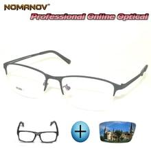 Custom Made Prescription Glasses Optical Photochromic Myopia Reading Business Comfort Frame Men Women Eyeglasses