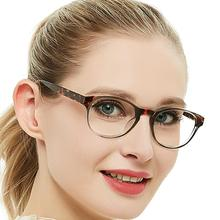 Round Reading Glasses Women Ultralight Presbyopic Eyeglasses Reading Fashion Presbyopia Eyewear oculos feminino +1.5 OCCI CHIARI