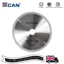 Xcan lâmina de serra circular de madeira, 1 peça de 185/210/250mm 60t/80t tct disco de corte lâmina de serra tct de carboneto