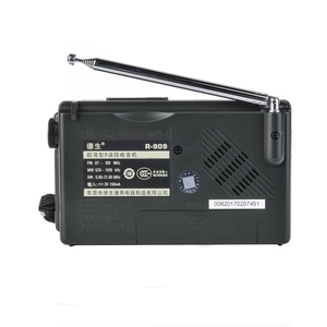Image 2 - TECSUN R 909 Fm/Mw/Sw 9เครื่องรับสัญญาณวิทยุแบบพกพาวิทยุFmเสาอากาศวิทยุ