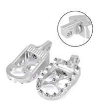 Universal Motorcycle Footrest Pedal Footrests Moto Footpegs For Dyna 1993-2017 Fatboy 1990-2017 Lron 883 2009 2010-2017