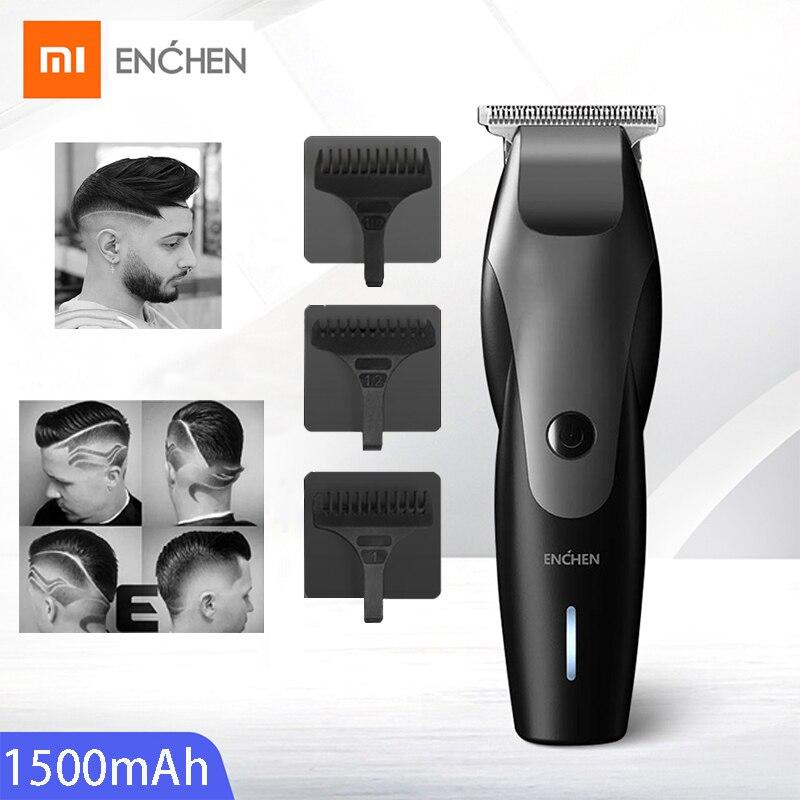Xiaomi Hair Trimmer Beard Shaver Electric Hair Clipper Adult Razor Professional Trimmer Angle Razor Haircut ENCHEN Hair Clipper