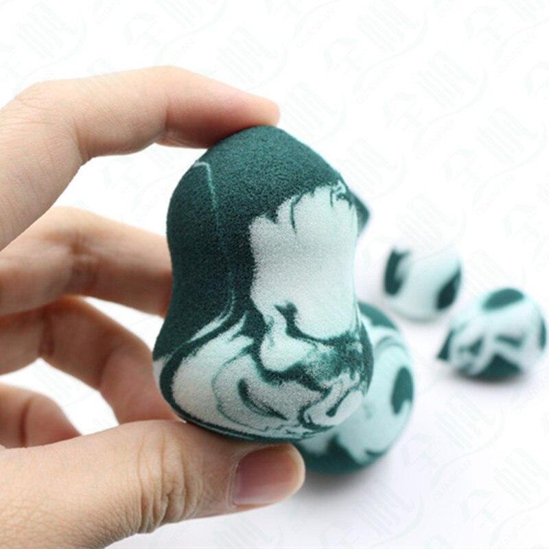 Kosmetische Ei Camouflage Armee Grün Serie Farbe Mischen Färbung Set Kombination mit Puff Non Latex Wasser Größeren - 2