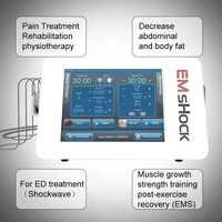 2020 nueva tecnología EMS + terapia de ondas de choque fisioterapia terapia de ondas de choque para tratamiento ED
