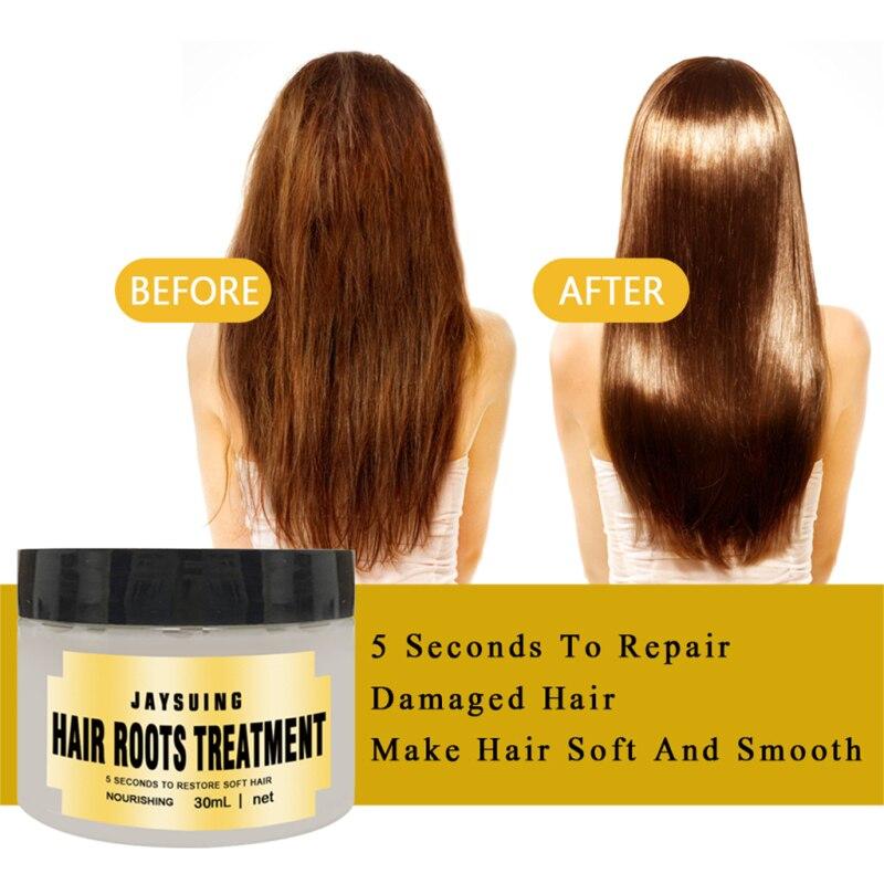 Mágico tratamiento de queratina del cabello máscara reparar los daños de la raíz del pelo tónico para el pelo de queratina tratamiento para el cuero cabelludo y el cabello pelo Cuidado del cabello