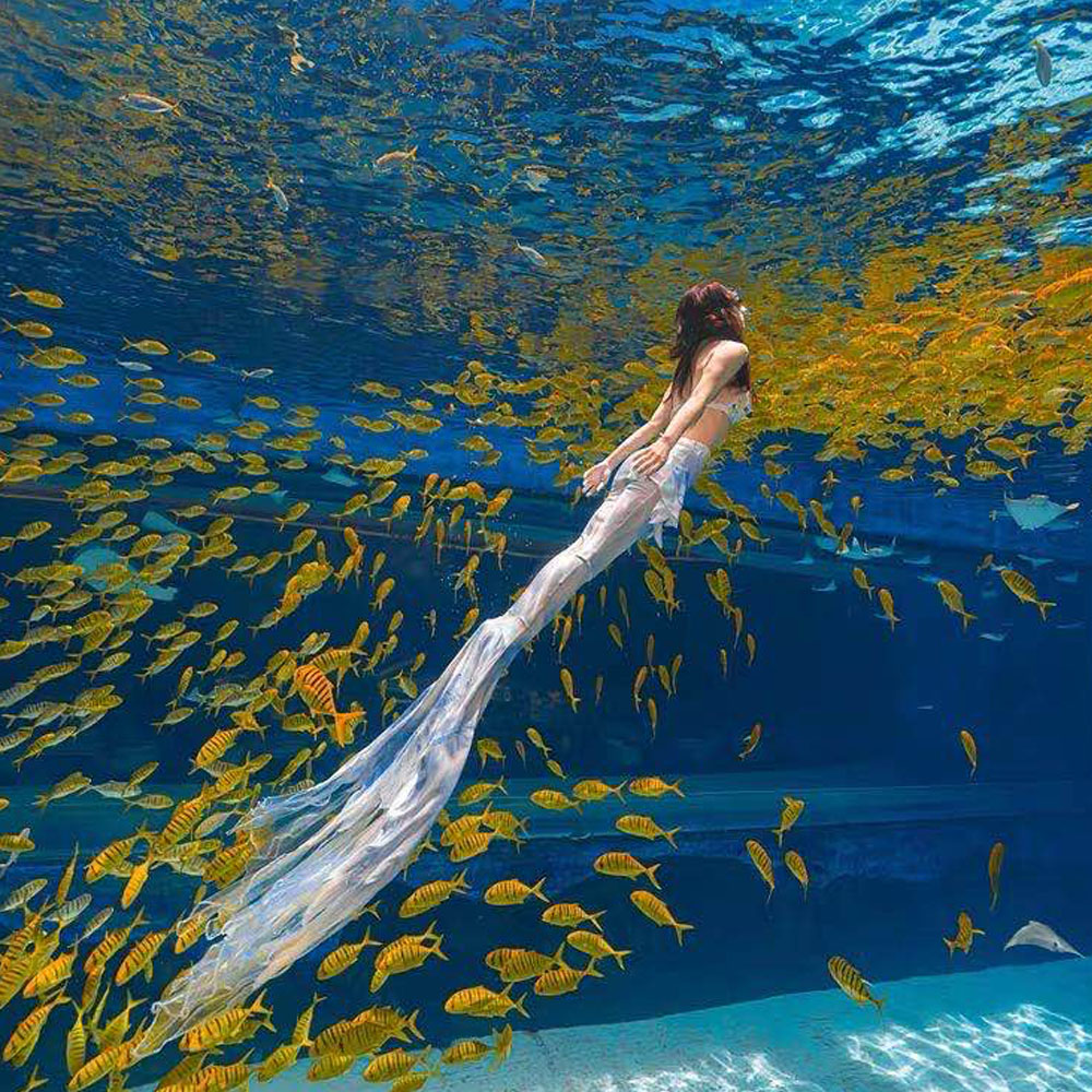 2020 Mermaid Engel Flügel Badeanzug Schwanz Erwachsene Bademode Sommer Strand Urlaub Ohne Monofin Cosplay Hochwertige Kostüm