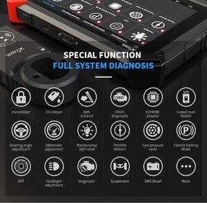 Image 2 - X100 PAD2 pro OBD2 herramienta de diagnóstico profesional para automóviles con programador clave para VW 4th 5th inmovilizador y ajuste automático del odómetro del escáner Actualización gratuita en línea