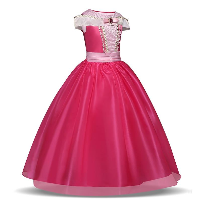 Girls Princess Dress Halloween Costume Birthday Party Clothing for Children Kids Vestidos Robe Fille Girls Fancy Dress 3