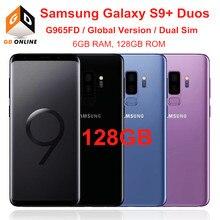 Samsung Galaxy S9 + S9 Plus Duos G965FD Dual Sim 6GB RAM 128GB ROM Globale Version Octa Core 6.2