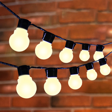 10M 38 LED String Light Globe Bulb Christmas Fairy Lights Outdoor Party Garden LED Garland Wedding Decoration Holiday Lighting