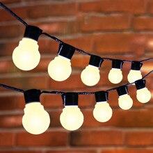 Tira de luces LED de 10M y 38 pulgadas para decoración navideña, guirnalda de luces Fiesta al aire libre para jardín, bodas y vacaciones
