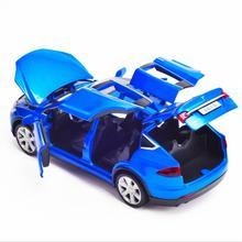 1:32 tesla model x toy Model Diecasts Toy
