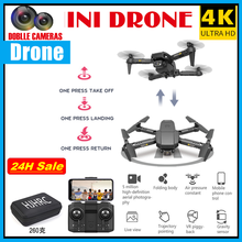 Mini Drone 4K Profissional HD HJ78 Quadcopter WiFi Transmission Foldable Anti-jamming Mini Drone Helicopter Obstacle Avoidance