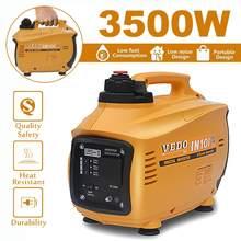 3500 Вт 3л портативный цифровой автомобильный бензиновый инверторный генератор кВт бензиновый генератор внешний источник энергии
