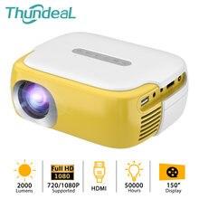 Thundeal Мини проектор для 1080p видео proyector детей портативный