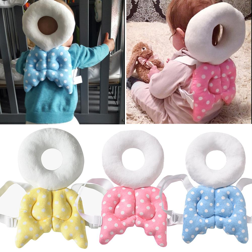 Cute Angle Baby Infant Toddler Newborn Head Back Protector Safety Anti-collision Pillow Safety Crawling Walking Cushion