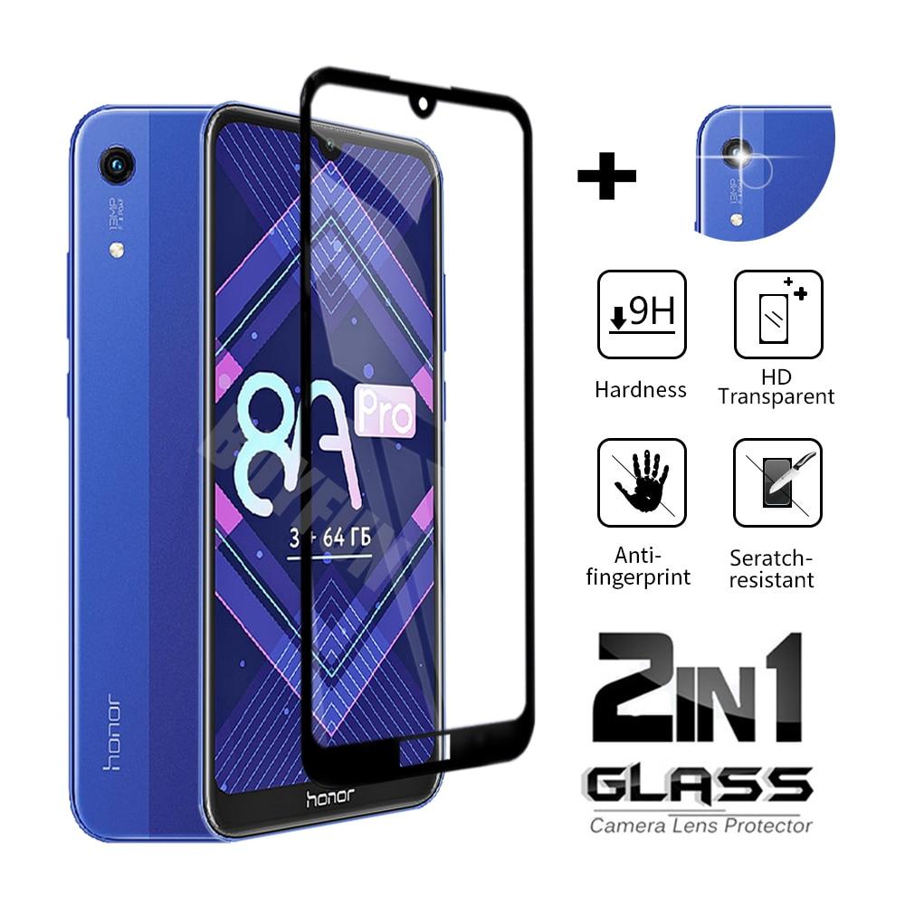 Закаленное стекло 2 в 1 для Huawei Honor 20 Lite6.15 20i 10 Lite 10i, Защитная пленка для экрана Honor 20, 20 Pro, 20e, 30, защитное стекло