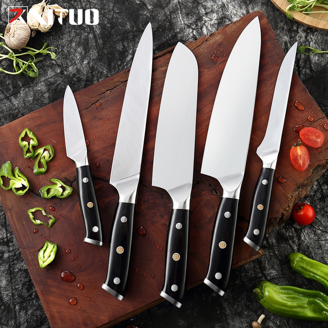 XITUO Kitchen Knife set Super German Steel Chef Knife Japanese Santoku Utility Knife Cleaver Slicing Paring New Cooking Tool 2