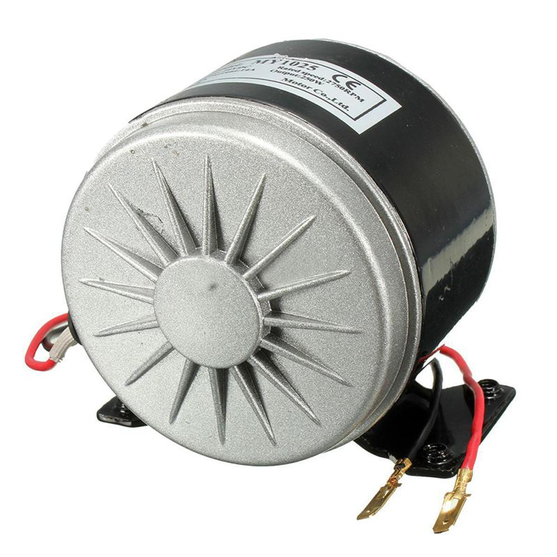 New 24V Electric Motor Brushed 250W 2750RPM Chain For E Scooter Drive Speed Control