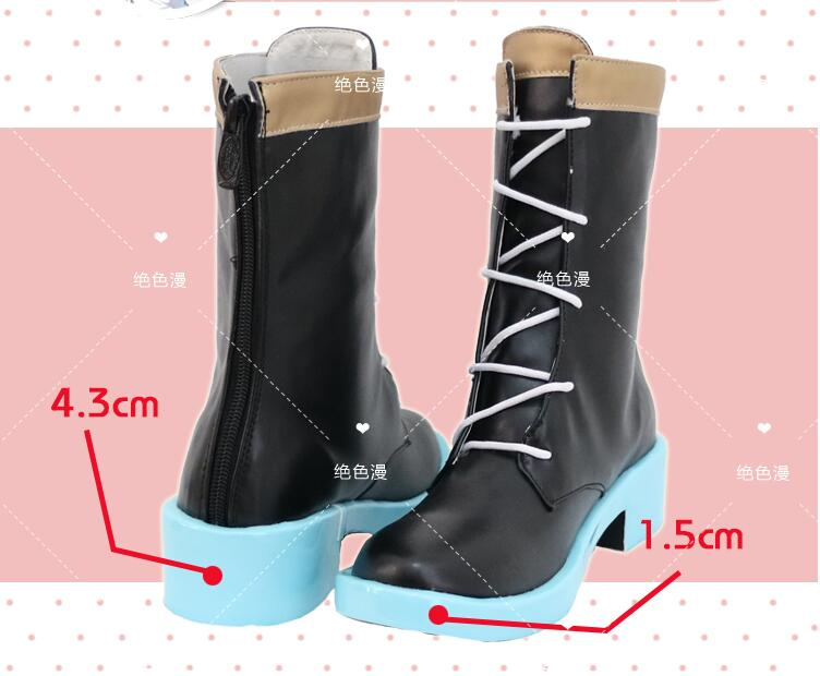 Shoes !!! Anime Virtual Youtuber Mea Cosplay The Maid Modelling  Boots  Daily Wear Or Party Role Play Accessories