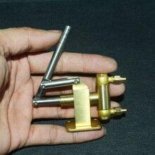 Motor de vapor de latón, Caldera, bomba de alimentación manual M8 live