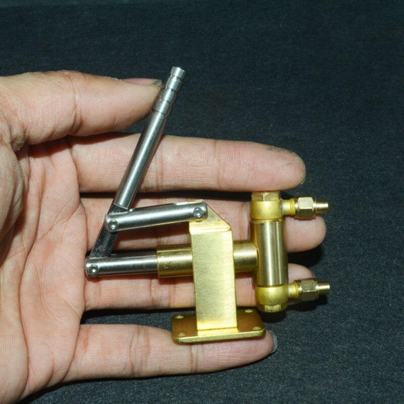 Brass  Steam Engine Boiler Hand Feed Pump M8 Live