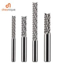 Frez trzpieniowy z węglika spiekanego frez trzpieniowy D0.8, 1.0, 1.6, 1.8, 2.4, 3.1 frez PCB frez trzpieniowy narzędzia do frezowania CNC