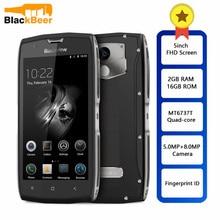 Blackview BV7000 IP68 Waterproof Smartphone MT6737T Quad Core 2GB + 16GB 5 אינץ FHD מסך NFC טביעות אצבע 4G הכפול SIM הסלולר