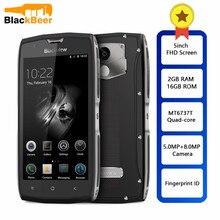 Blackview BV7000 IP68 su geçirmez Smartphone MT6737T dört çekirdekli 2GB + 16GB 5 inç FHD ekran NFC parmak izi 4G çift SIM cep telefonu