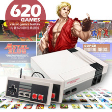 2020 Mini TV Console 8bit AV Output Handheld Built-in 620 Classic Games with Dual Gamepads for Accompanying Your Family