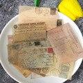 Винтаж письмо наклейки для скрапбукинга DIY дно коллаж дневник happy план телефона подарок уплотнения декоративная наклейка