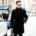 2020 Mens Mink Coat Winter Jacket Men Natural Mink Fur Jackets Plus Size Real Fur Coat Men Warm Coats M168 KJ3307