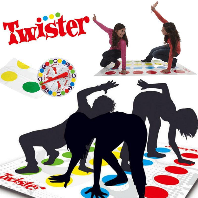 2020 Newest Colorful Mat Funny Kids Family Body Twister Moves Mat Board Game Group Outdoor Sport Mat Picnic Mat Dance Mat