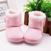 Детская зимняя обувь для новорожденных; Зимняя нескользящая