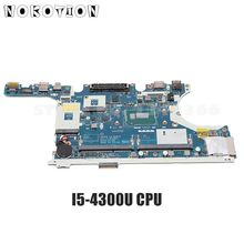 NOKOTION For Dell Latitude E7440 Laptop Motherboard with I5-