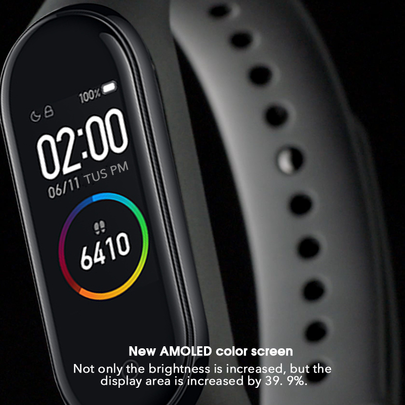 lowest price Original Brand Xiaomi Mi Band 4 5 Smart Watch Mi Band 5 Fitness Bracelet AMOLED Color Screen Heart Rate Music Control Smart Band