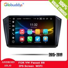 2din Android10 Autoradio Car dvd Radio player For VW/Volkswagen/Passat b8 Magotan 2015- Multimedia GPS DVR Camera carplay