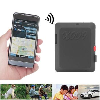 X009 Mini GPS Tracker Video Recording Car Pet Anti-Lost Locator with Camera SOS ABS + Electronic Components GPS Trackers-GPS image